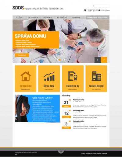01_SDDS_homepage