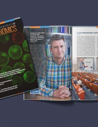 Newsletter pro Institute of Molecular Genetics of the Czech Academy of Sciences